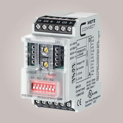 METZ CONNECT MR-CI4 Modbus