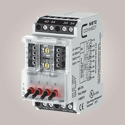 METZ CONNECT MR-TO4 Modbus 4 triac udgange