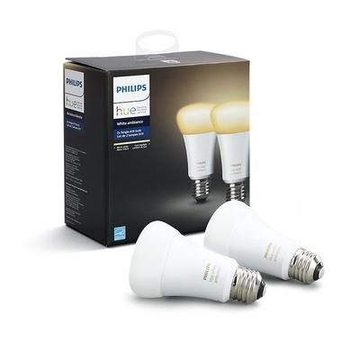 Philips Hue white Ambiance A60 E27 2Pack