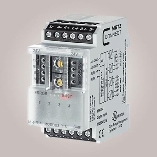 METZ CONNECT MR-DI4 Modbus 4 digitale indgange