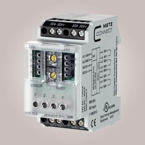 METZ CONNECT MR-SI4 Modbus tællemodul