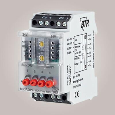 METZ CONNECT MR-AOP4 Modbus
